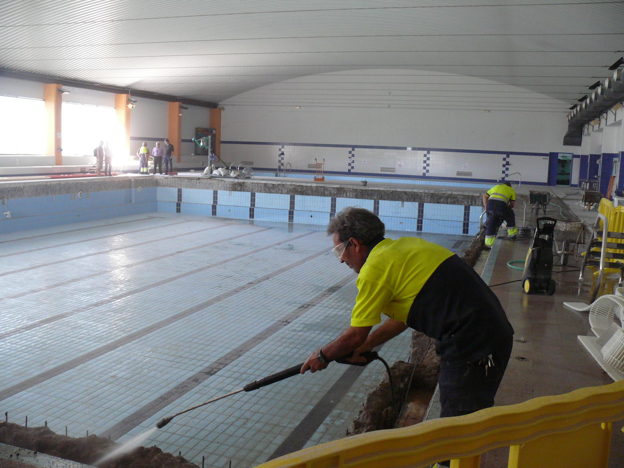 La constructora calme construir el nuevo vaso de la for Piscina climatizada navalmoral